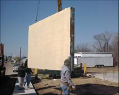 PRE-FINISHED LIGHTWEIGHT CONCRETE PANEL TECHNOLOGY